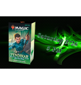 Wizards of the Coast Zendikar Rising Prerelase: Saturday 5pm