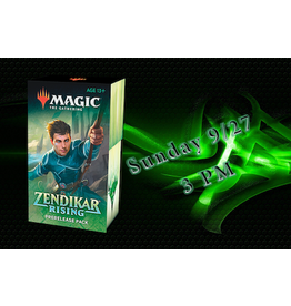 Wizards of the Coast Zendikar Rising Prerelase: Sunday 3pm