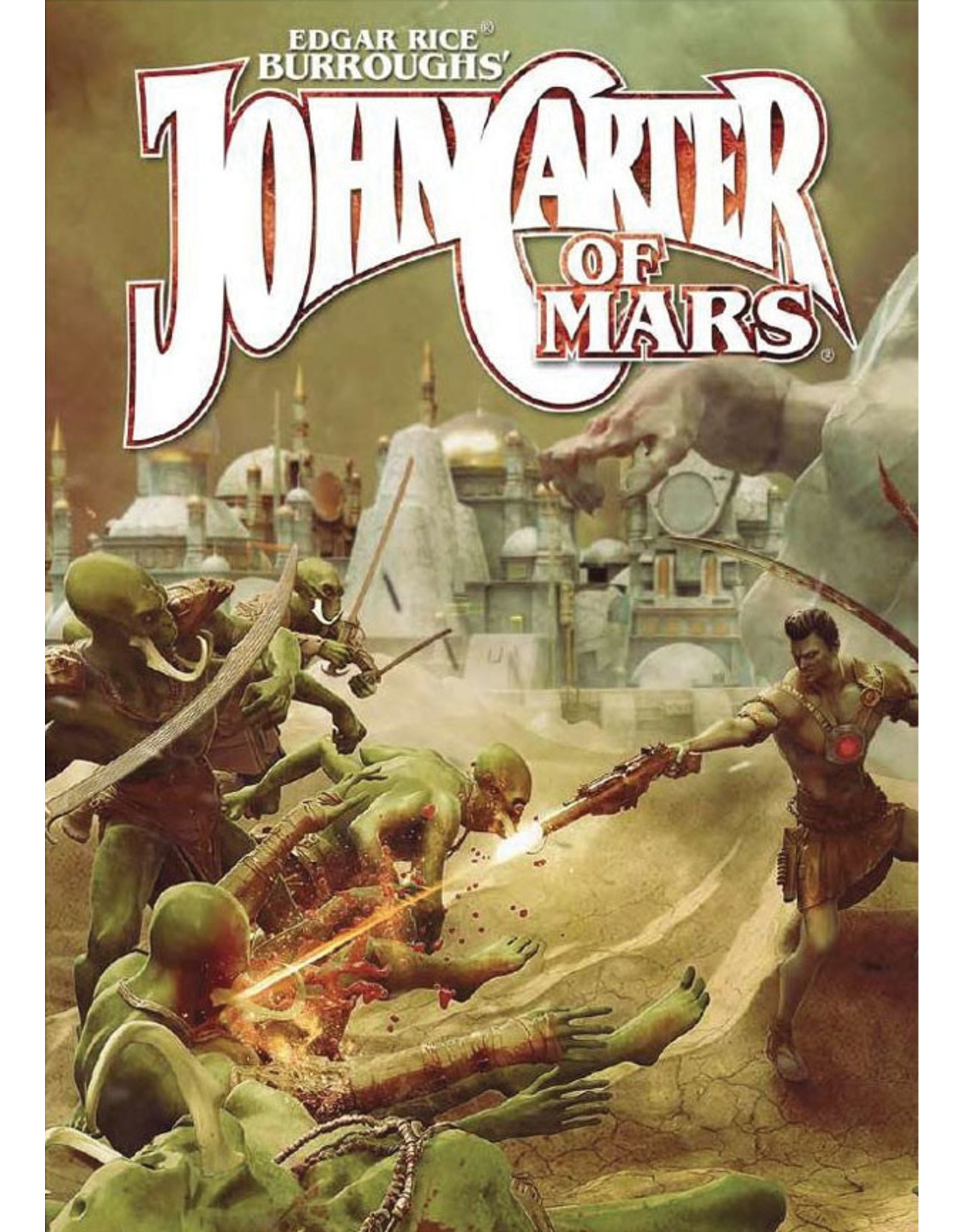 Modiphius Entertainment John Carter of Mars: Adventures on the Dying World of Barsoom