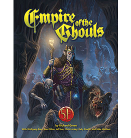 Kobold Press Dungeons and Dragons RPG: Empire of the Ghouls Hardcover