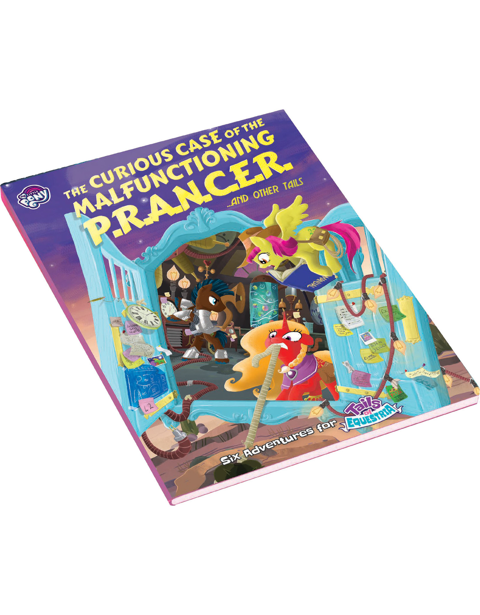 River Horse My Little Pony: Tails of Equestria RPG - The Curious Case of the Malfunctioning P.R.A.N.C.E.R. and Other Tails