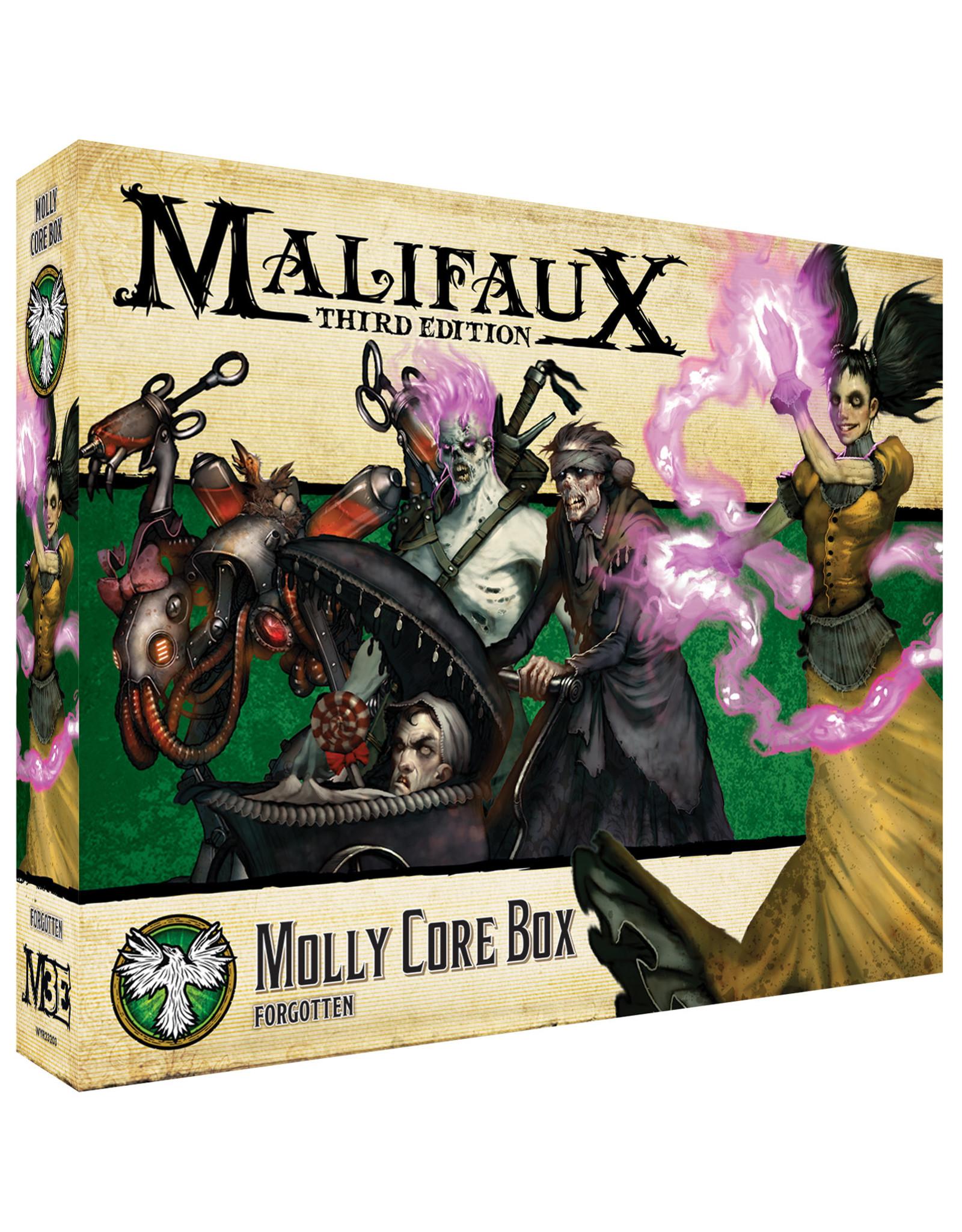 Wyrd Games Malifaux: Resurrectionists Molly Core Box