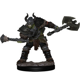 Pathfinder Battles: Premium Painted Figure - W1 Half-Orc Barbarian Male