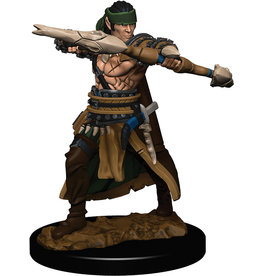 WizKids Pathfinder Battles: Premium Painted Figure - W1 Half-Elf Ranger Male
