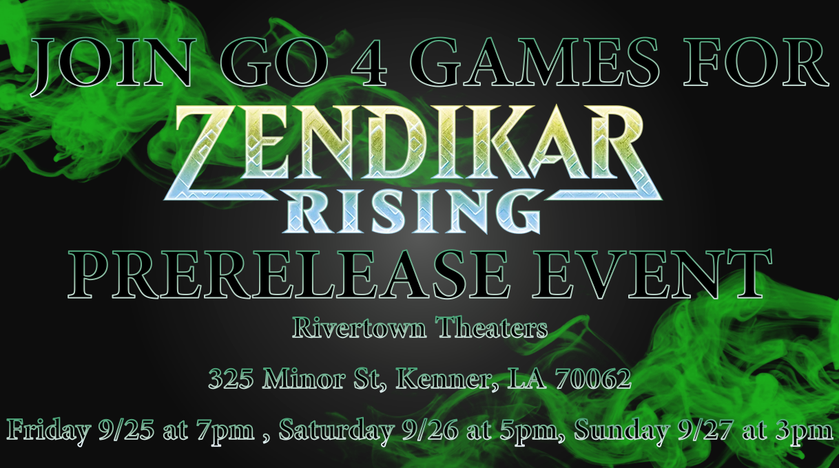 Magic the Gathering: Zendikar Rising Release Event