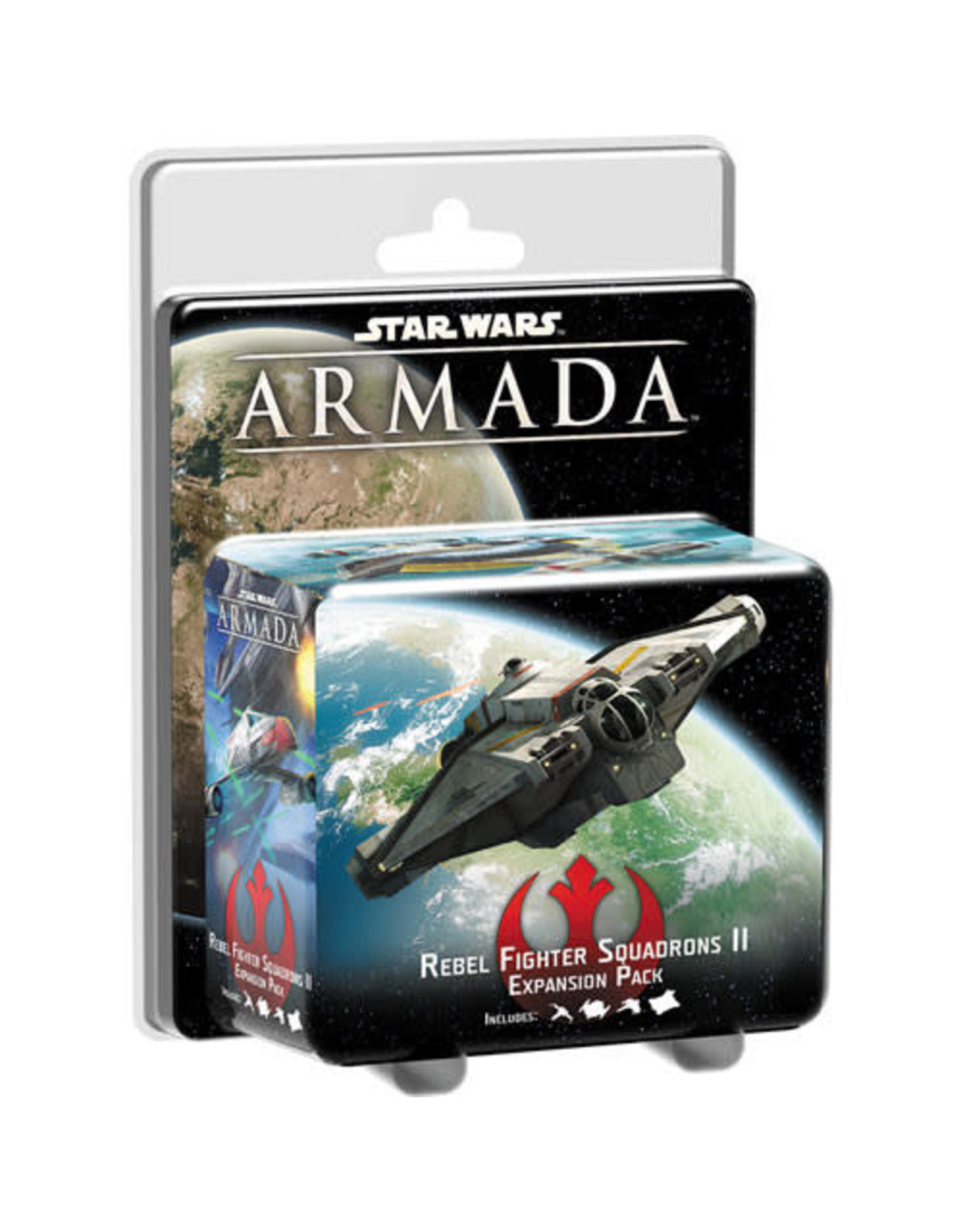 Fantasy Flight Games Copy of Star Wars Armada: Rebel Fighter Squadrons II Expansion Pack