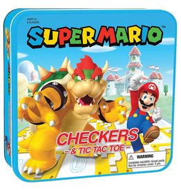 The OP Super Mario vs Bowser Checkers & Tic Tac Toe