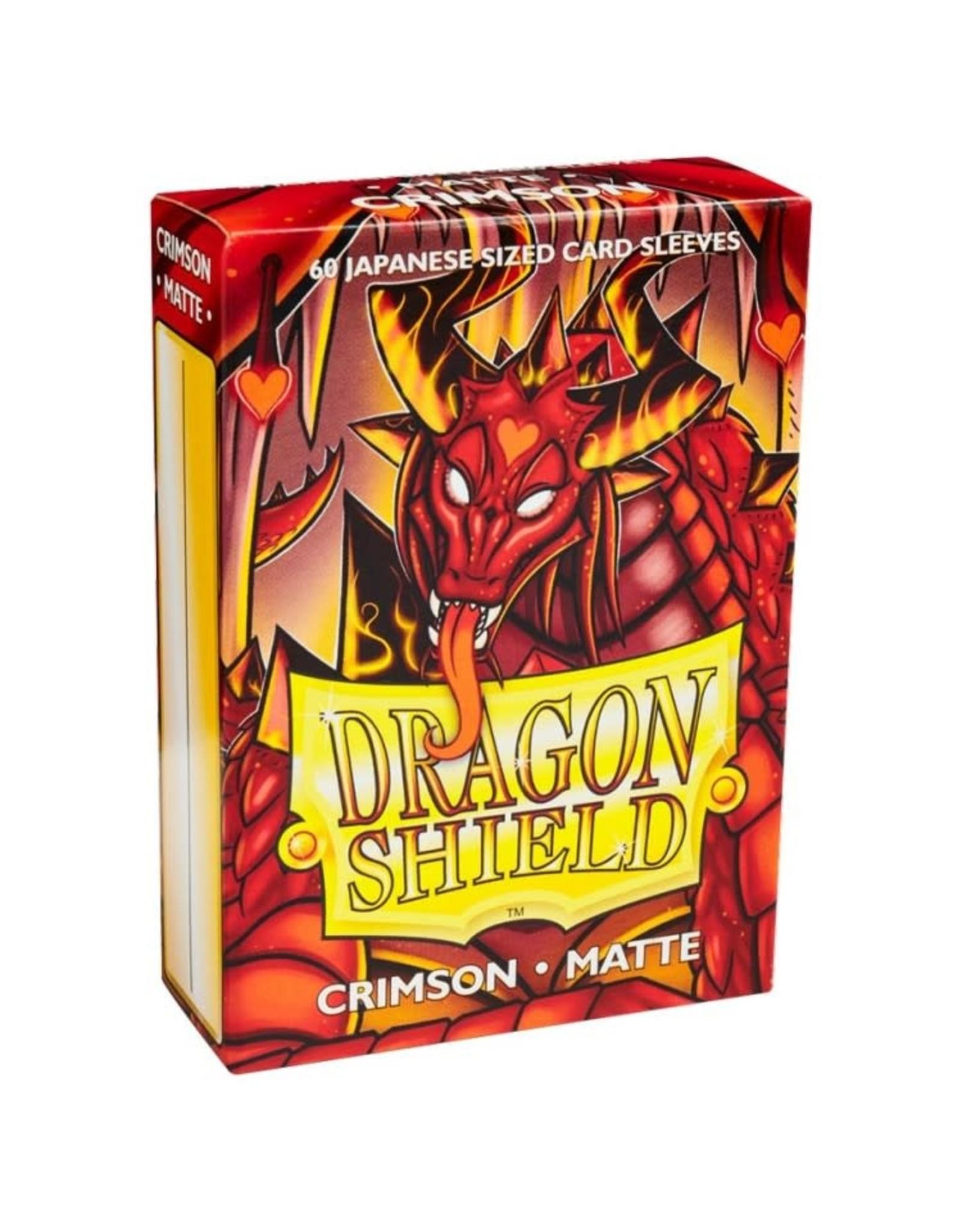 Dragon Shield DP: DS: Japanese: Matte Crimson (60)