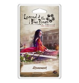 Fantasy Flight Games L5R LCG: Atonement Dynasty Pack