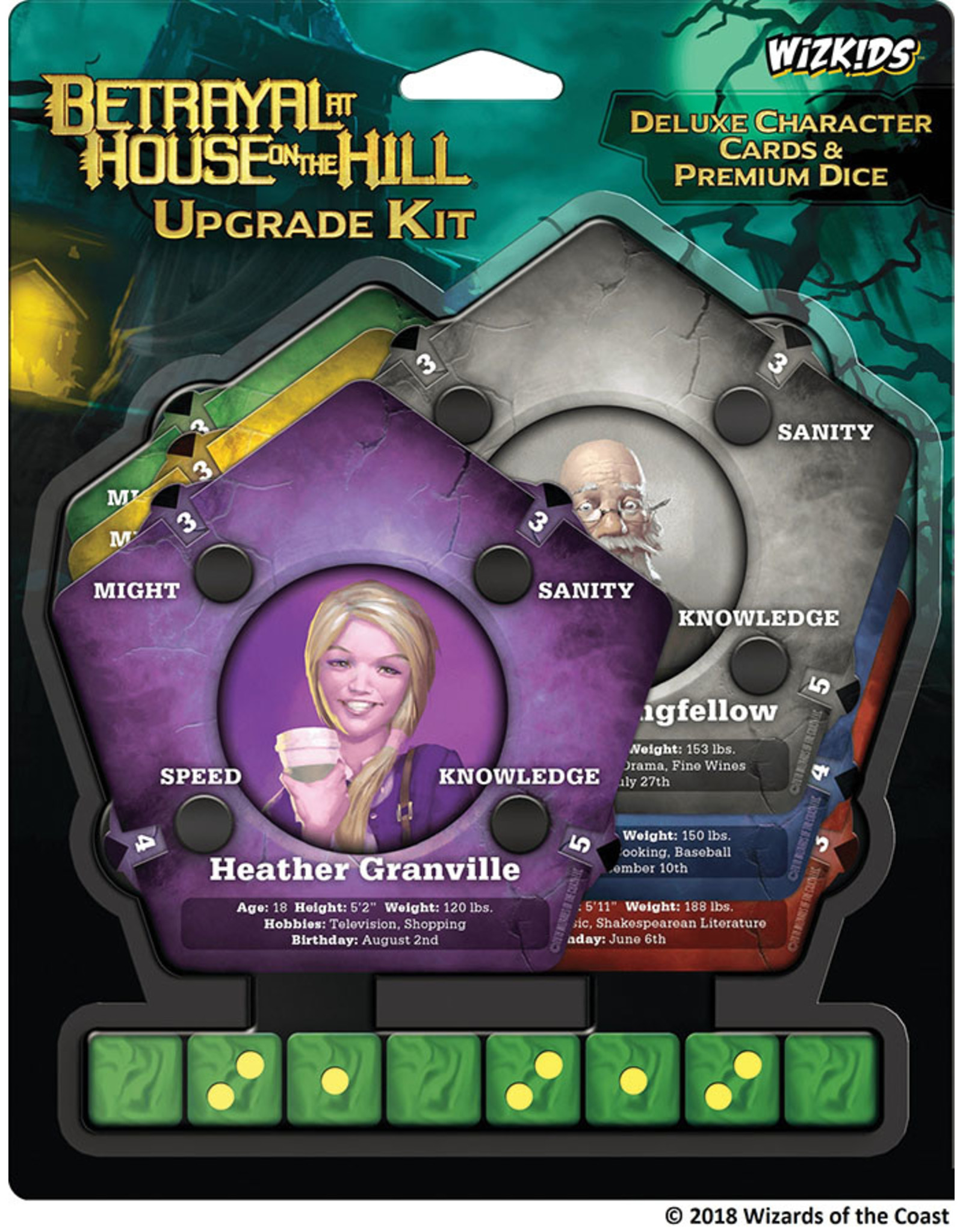 WizKids Betrayal at House on the Hill: Upgrade Kit
