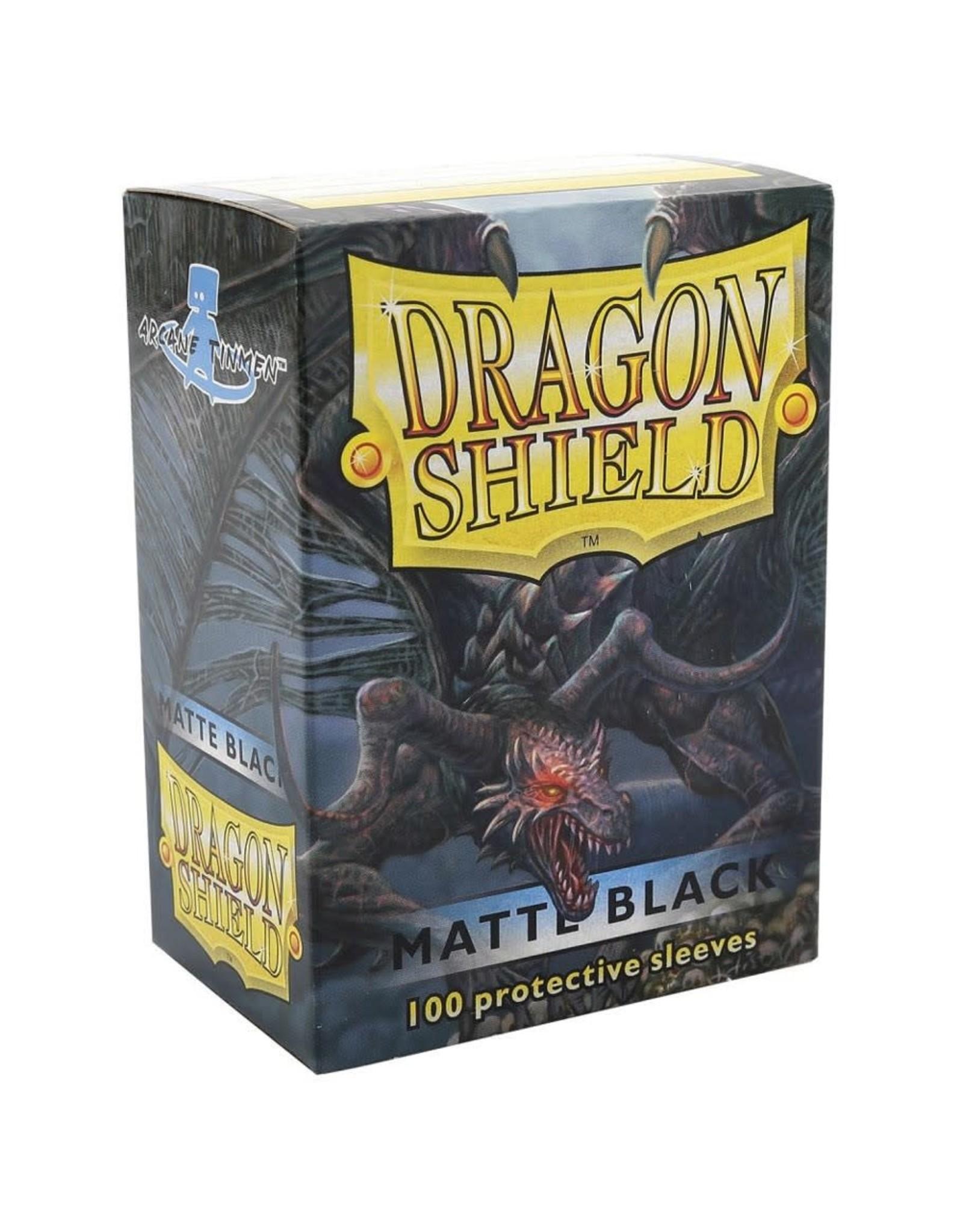 Dragon Shield Dragon Shield: (100) Matte Black