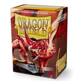 Dragon Shield DP: DS: Matte Ruby (100)