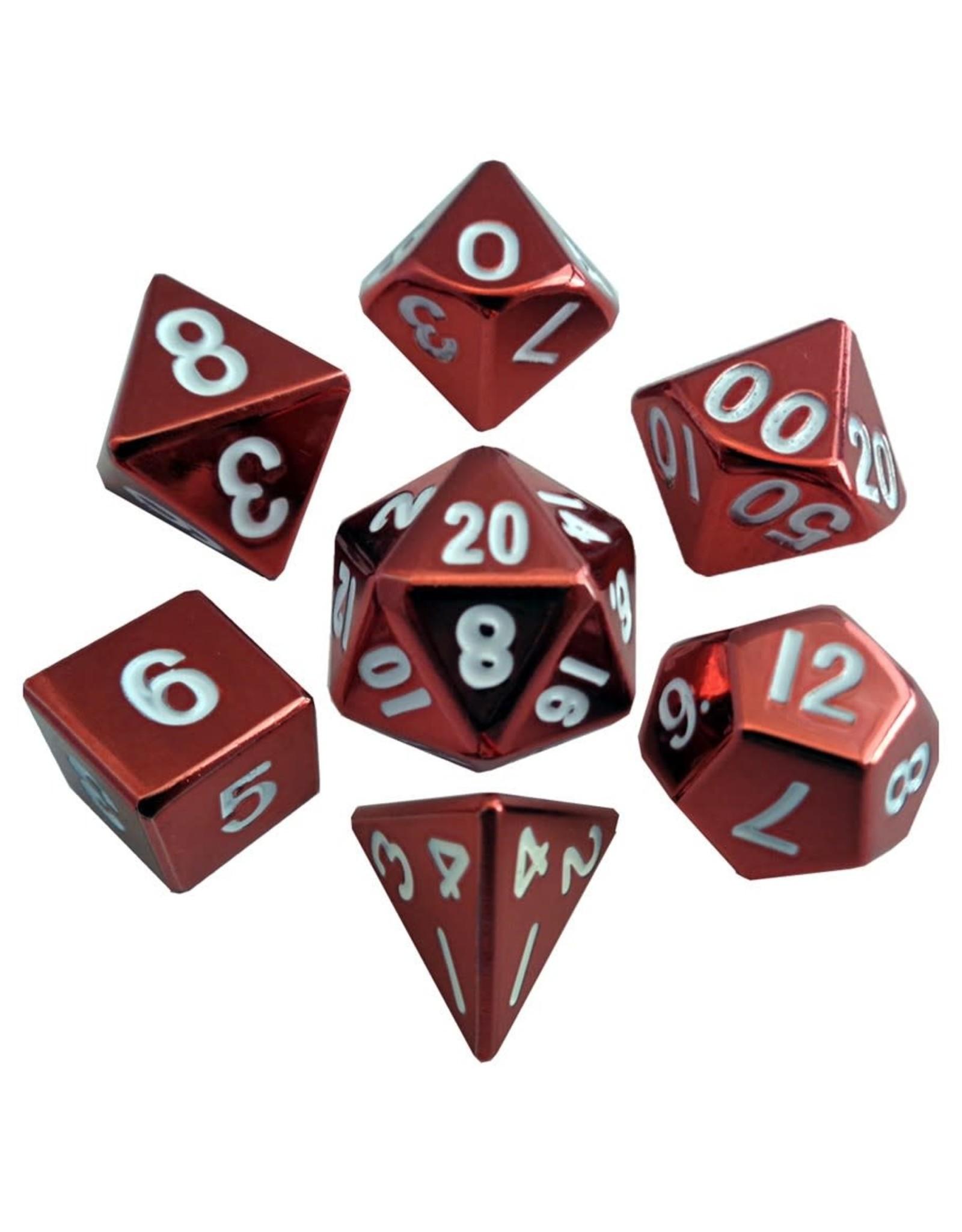 Metallic Dice Games 7-set: RD Painted Metal
