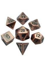 Metallic Dice Games 7-set: Antique CP Metal