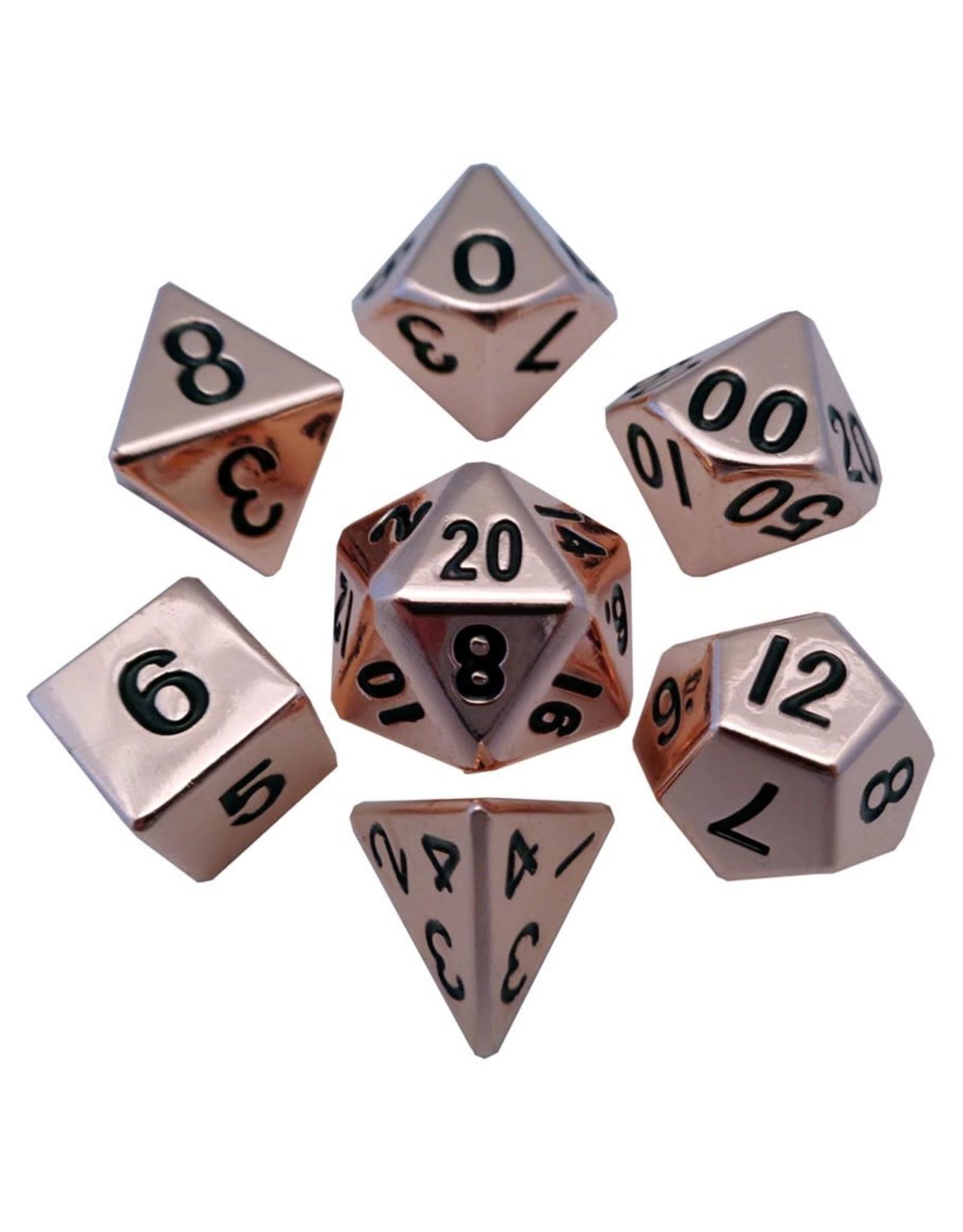 Metallic Dice Games 7-set: CP Metal