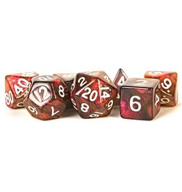 Metallic Dice Games 7-Set: Stardust: Supervolcano