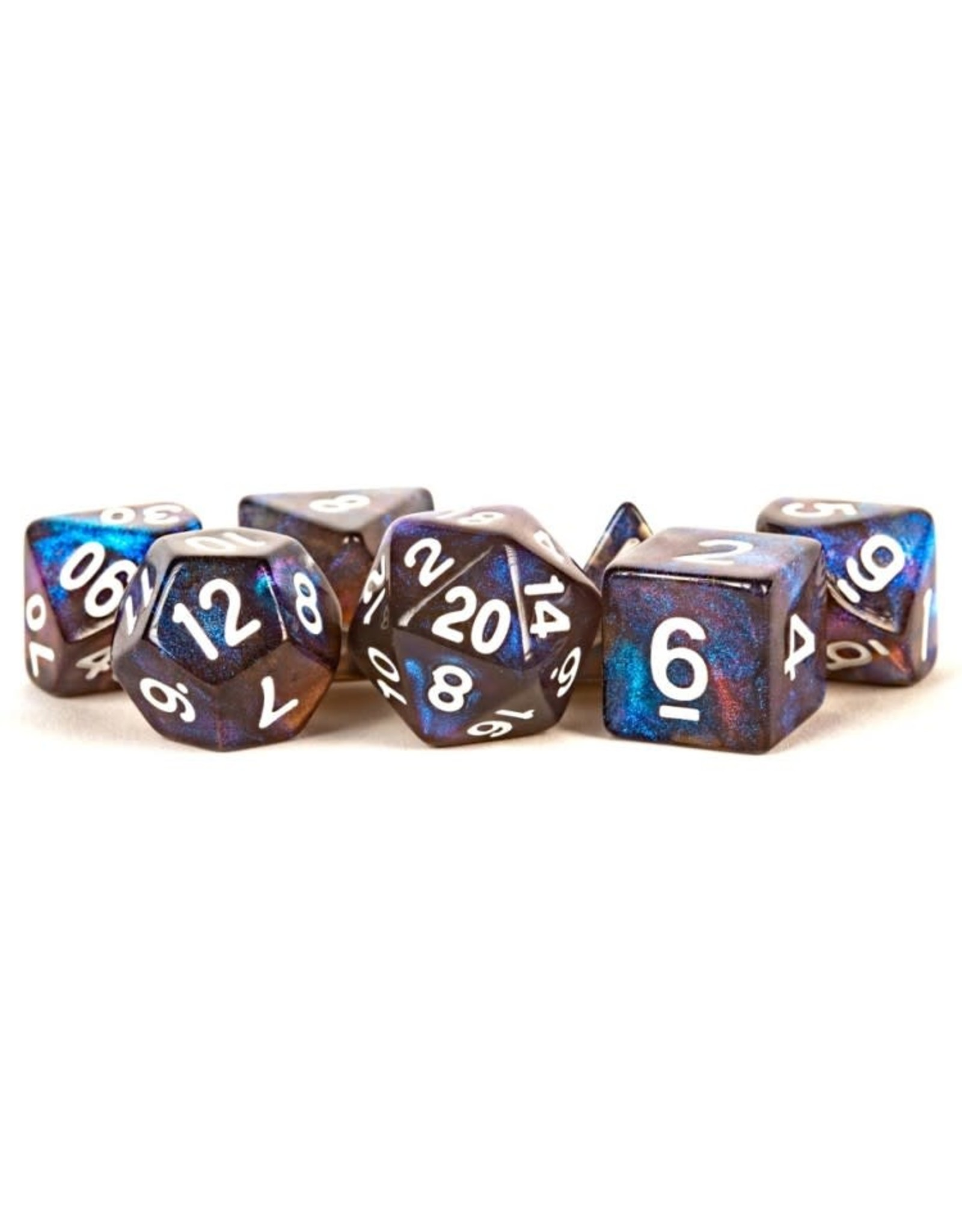 Metallic Dice Games 7-Set: Stardust: Galaxy
