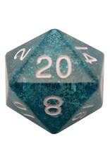 Metallic Dice Games d20 Single 35mm Mega Ethereal BUwh