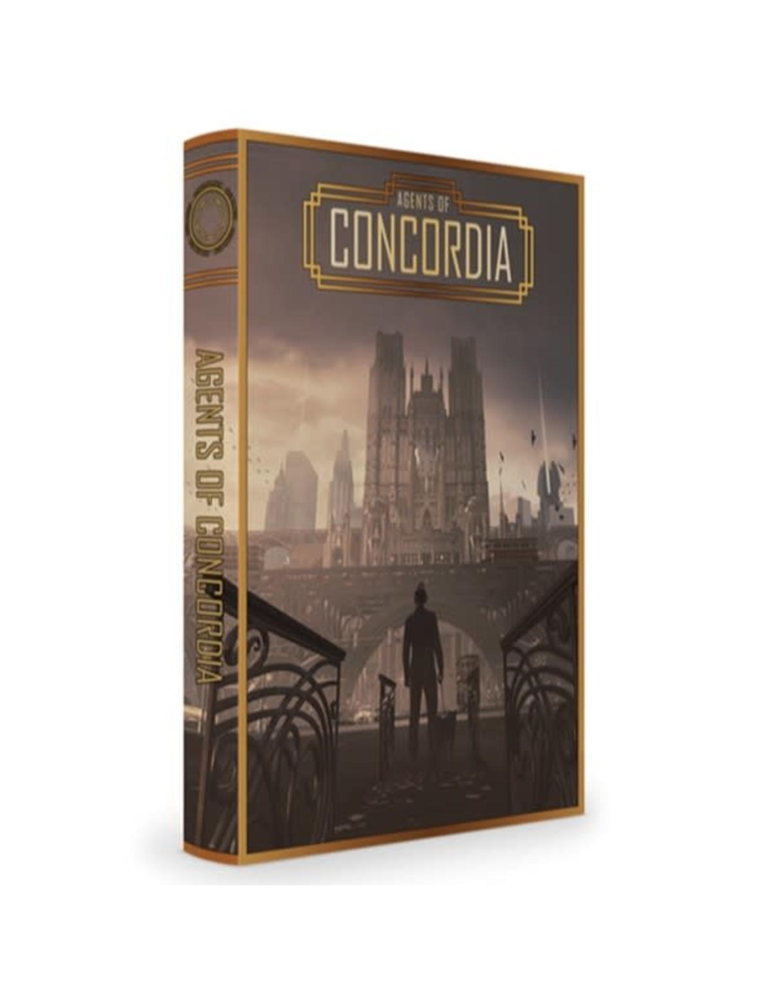 Modiphius Entertainment Agents of Concordia RPG