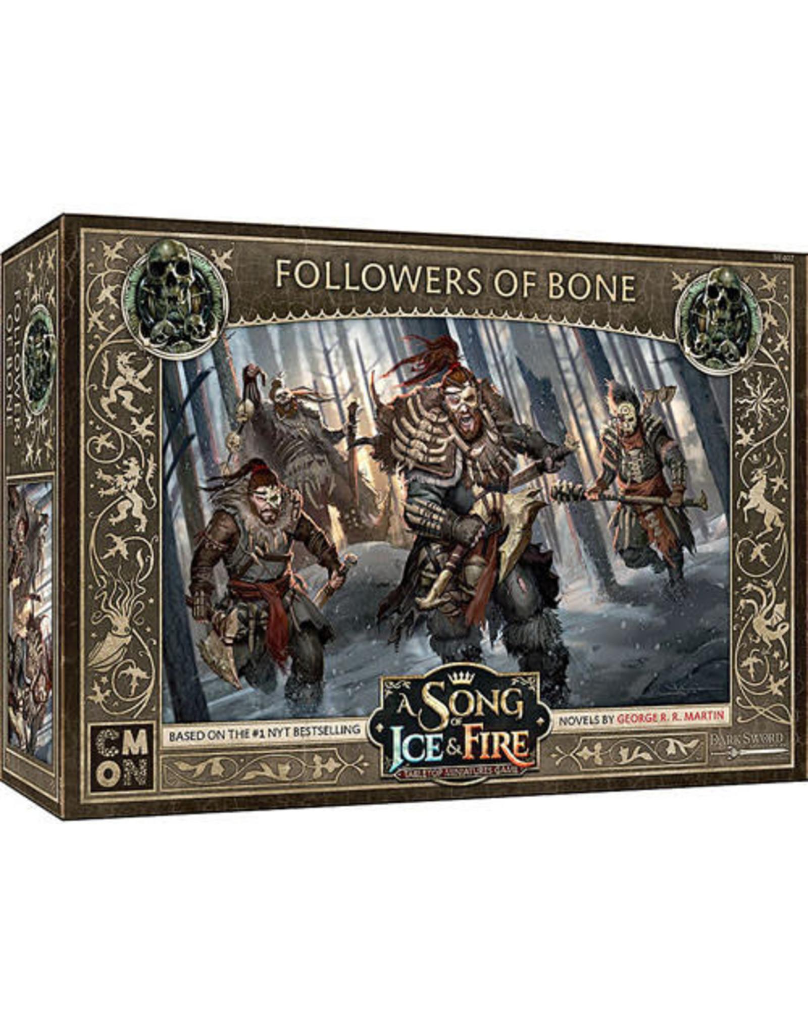 CMON A Song of Ice & Fire: Free Folk Followers of Bone Unit Box