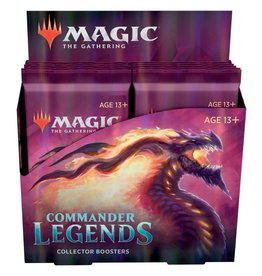 Wizards of the Coast MTG Commander Legends Collector Booster Box