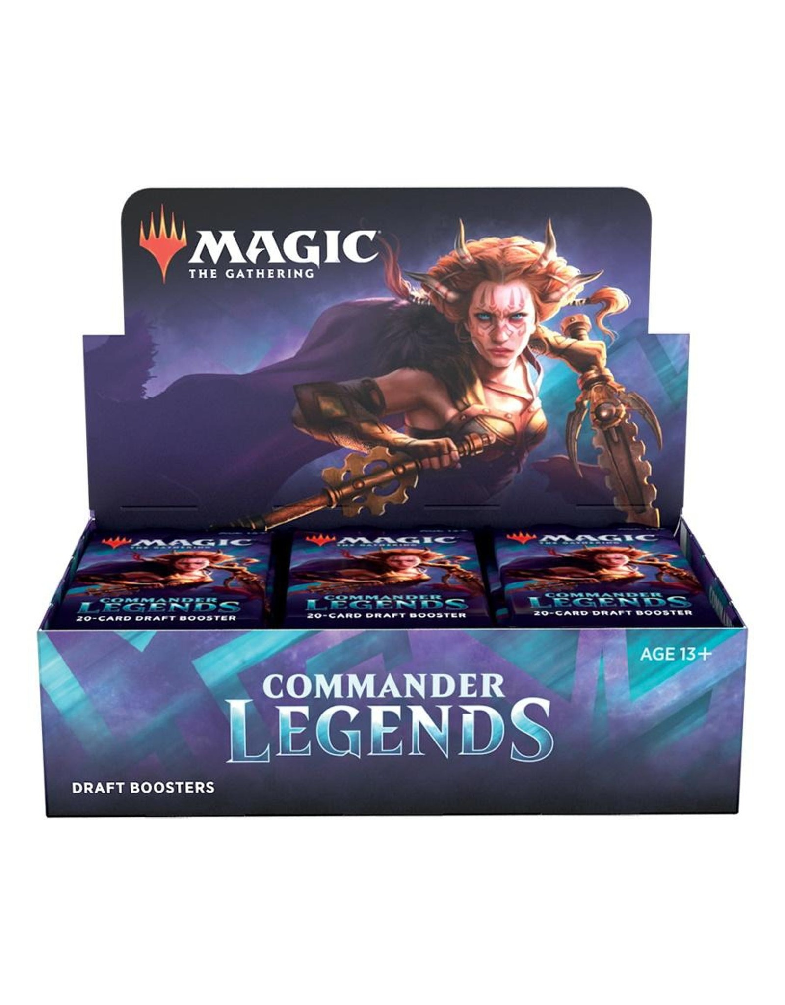 Wizards of the Coast MTG Commander Legends Booster Box