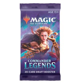 Wizards of the Coast MTG Commander Legends Booster Pack