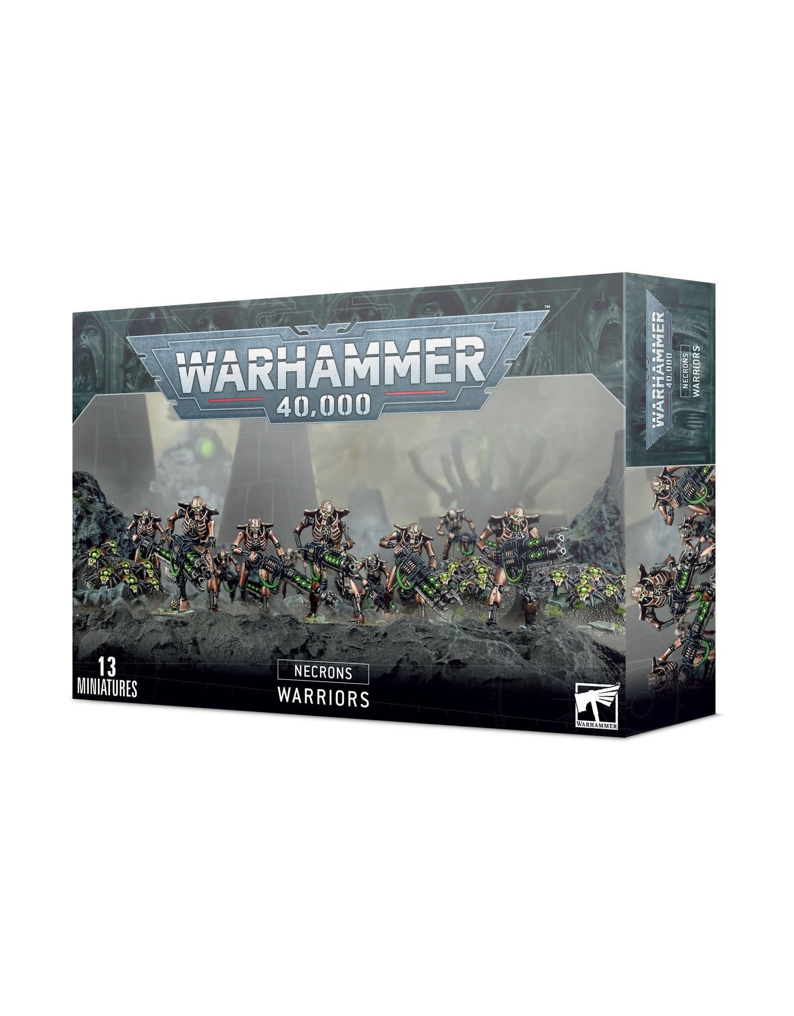 Games Workshop Necrons: Necron Warriors