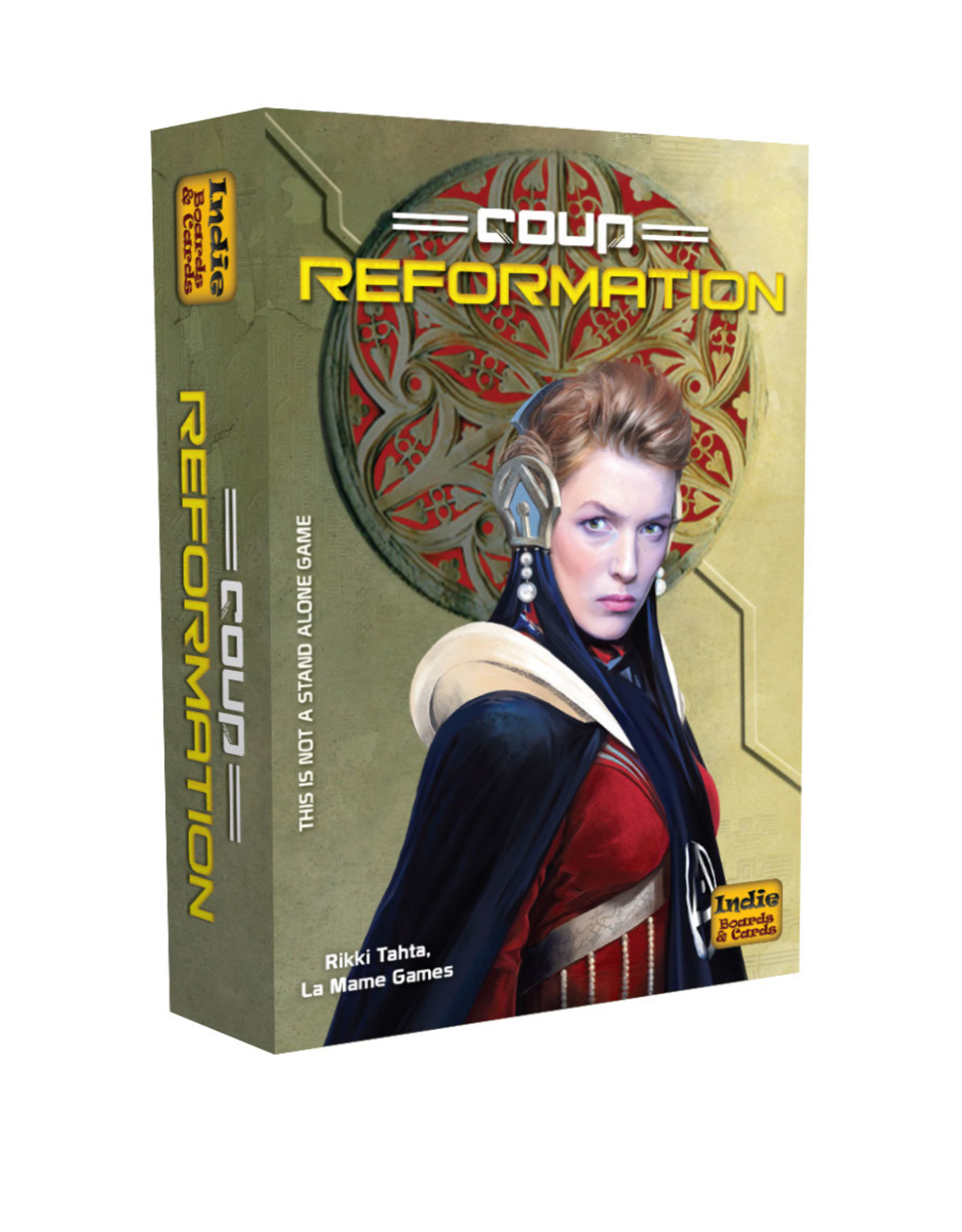 Indie Boards and Cards Coup: Reformation Expansion 2nd Edition
