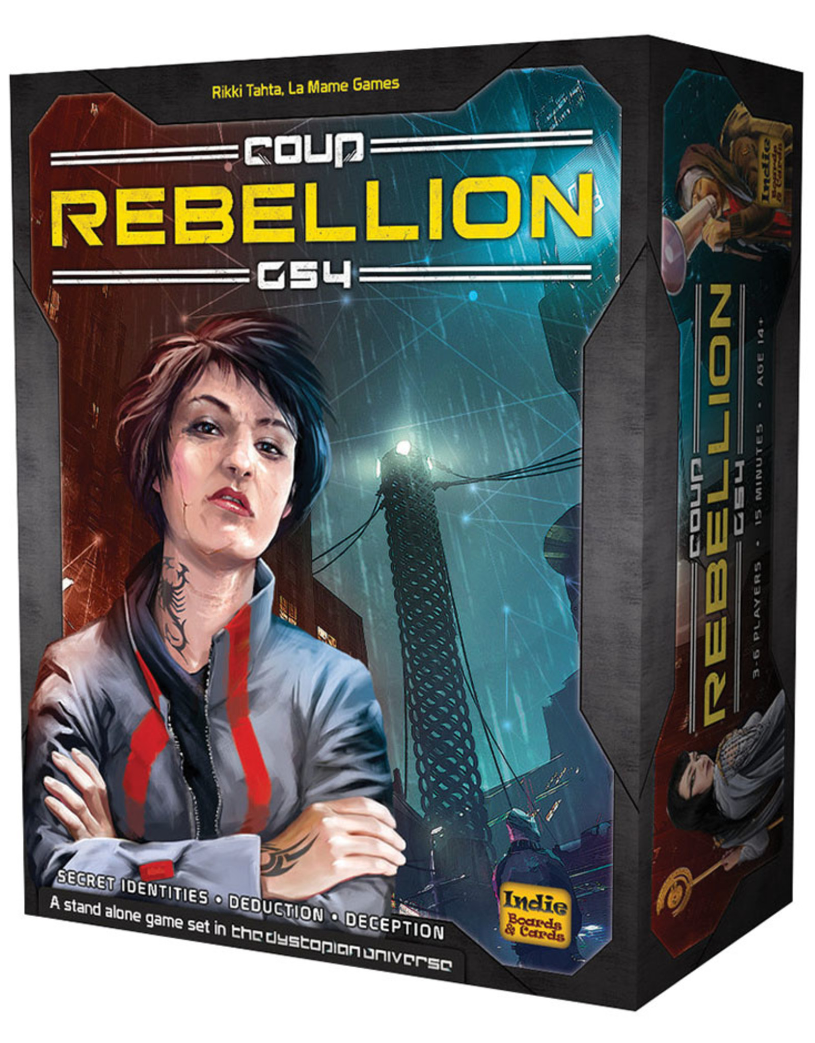 Indie Boards and Cards Coup: Rebellion G54