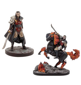 Gale Force 9 Dungeons and Dragons RPG: Curse of Strahd - Strahd Foot & Mounted (2 figs)