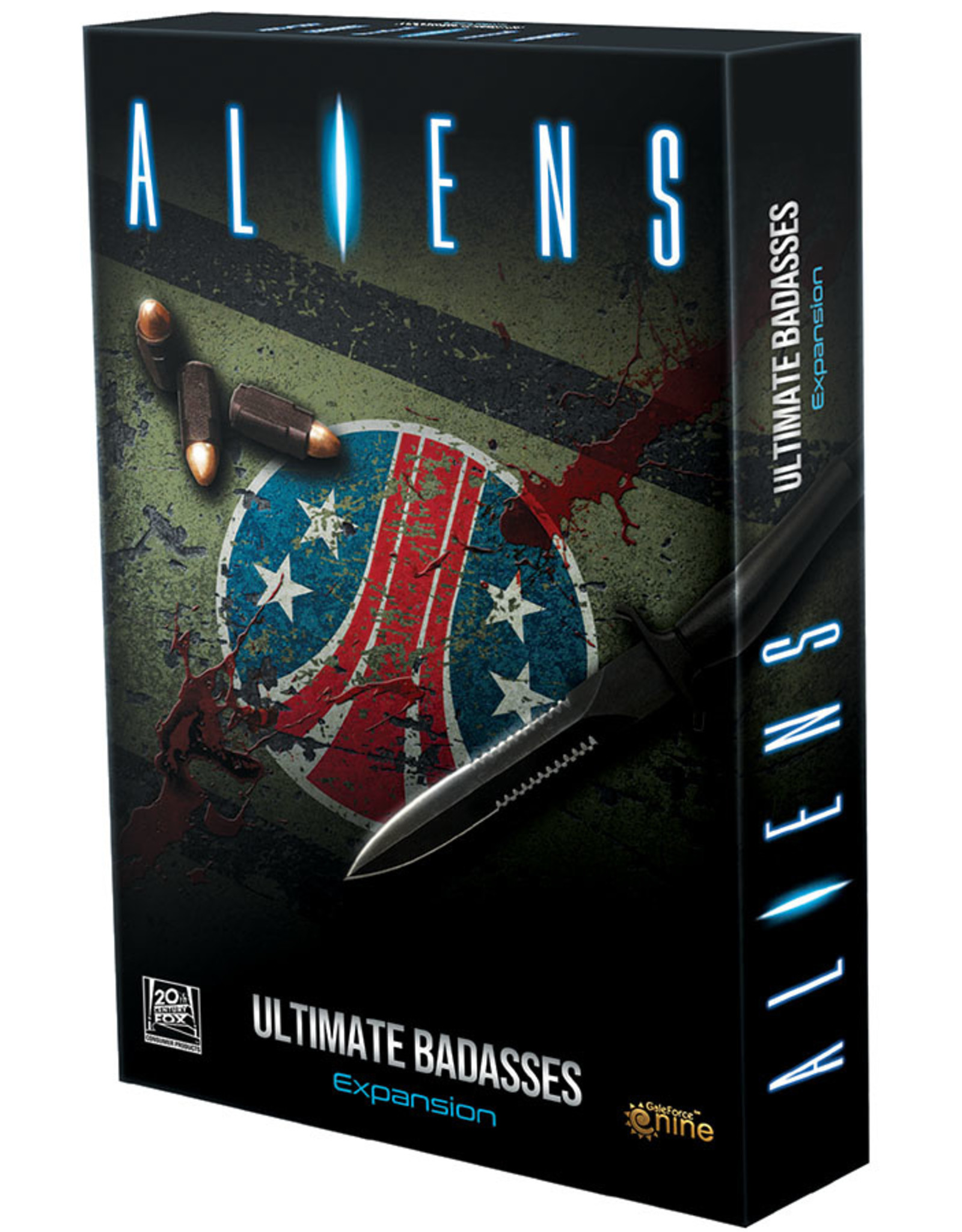 Gale Force 9 Aliens Board Game: Ultimate Badasses Expansion