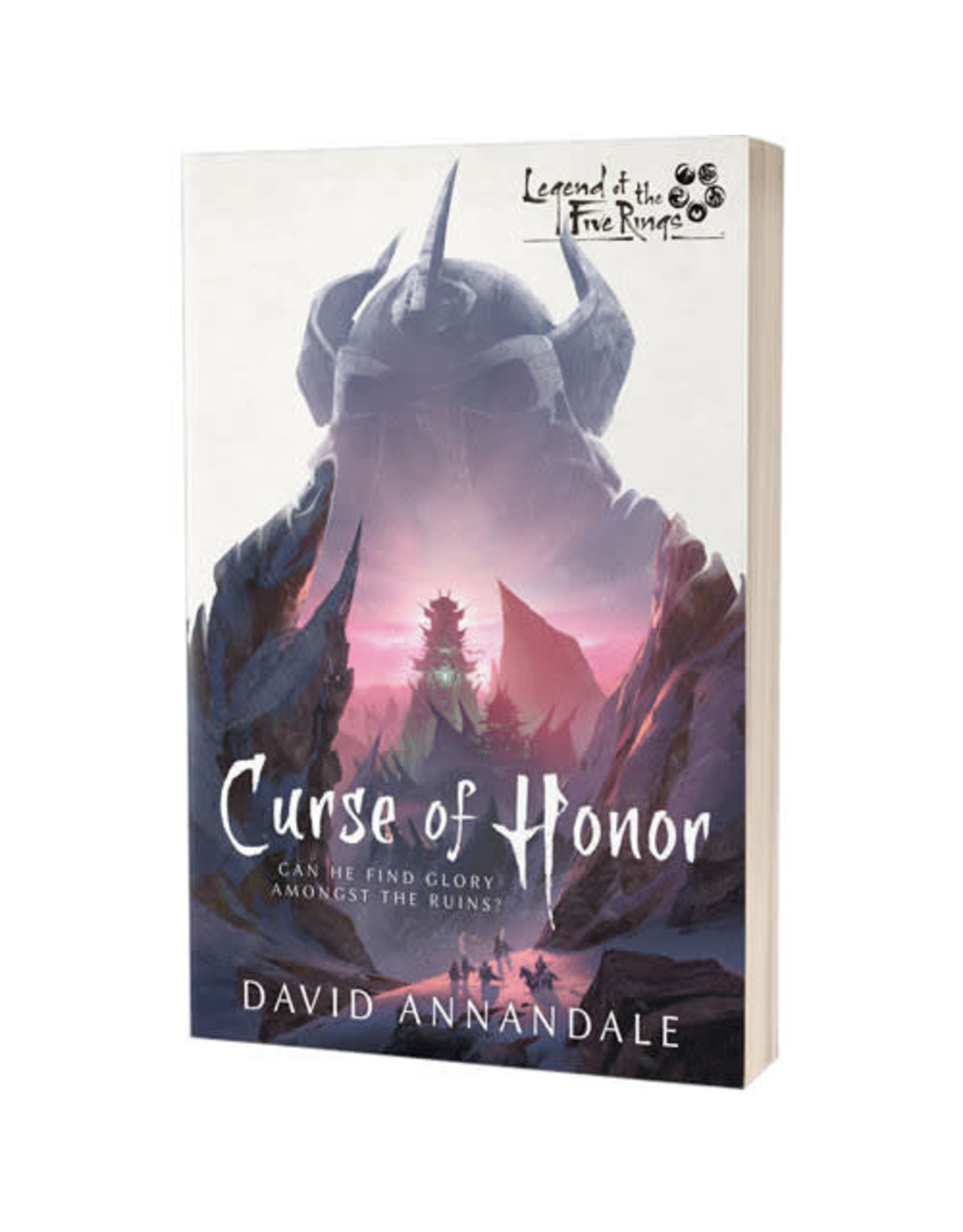 Fantasy Flight Games Legends of the Five Rings Novel: Curse of Honor