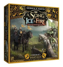 CMON A Song of Ice and Fire: Baratheon Starter Set