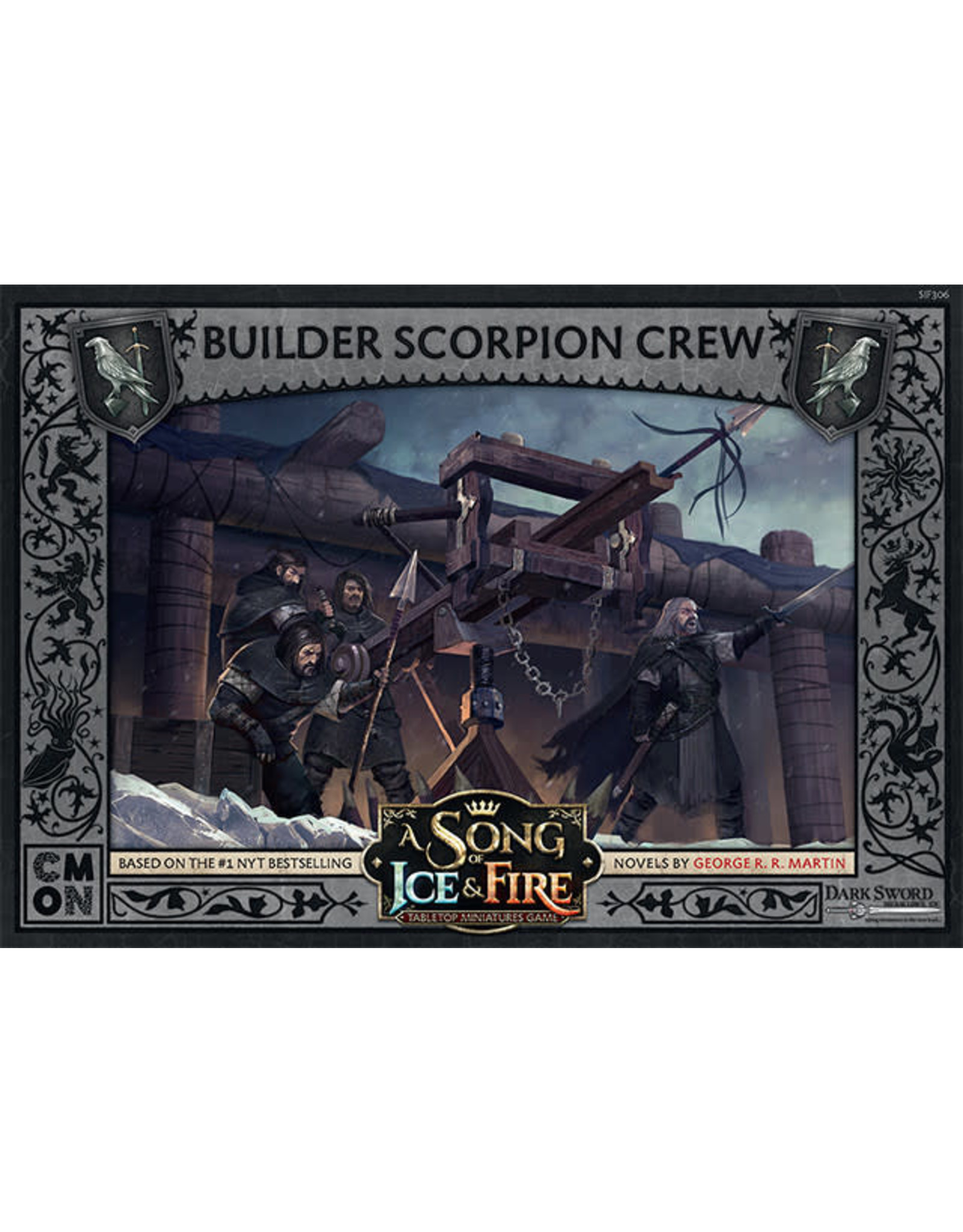 CMON A Song of Ice & Fire: Night's Watch Builder Scorpion Crew Expansion