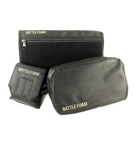 Battle Foam Grenade Ditty Media P.A.C.K. Molle Accessory Bundle (Black)