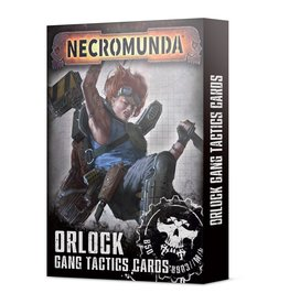 Games Workshop Orlock Gang Tactic Cards