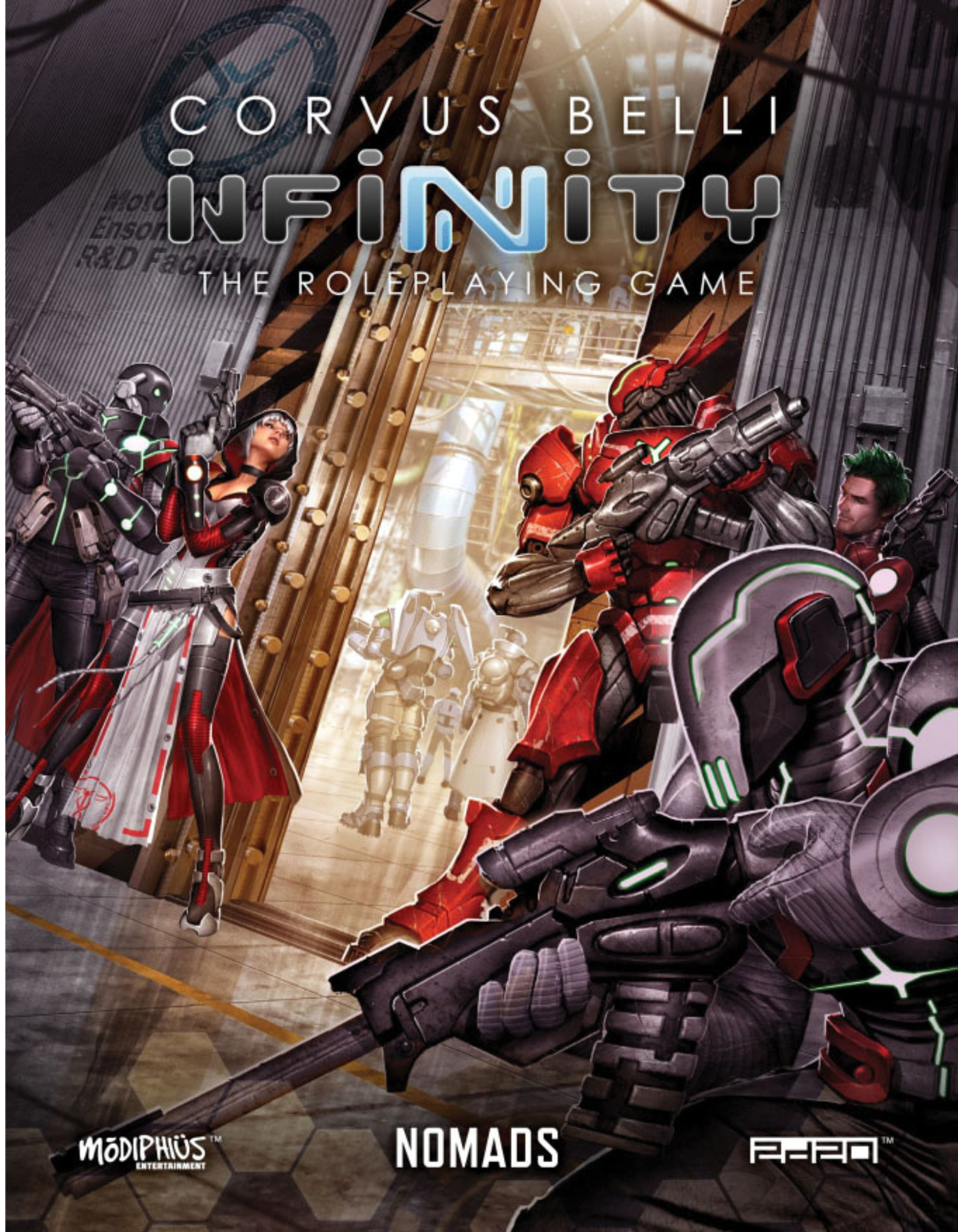 Modiphius Entertainment Infinity RPG: Nomads