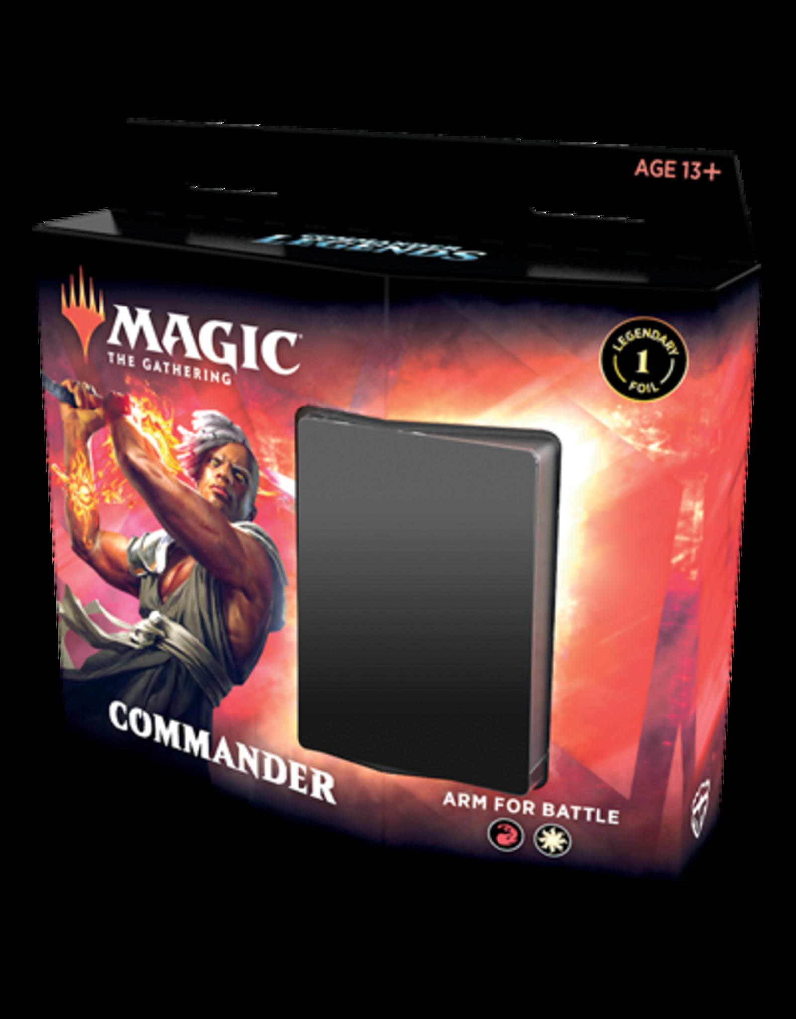 Wizards of the Coast MTG Commander Legends Commander Deck: Arm for Battle
