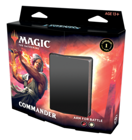 Wizards of the Coast MTG Commander Legends Commander Deck: Arm for Battle