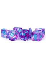 Metallic Dice Games 7-Set: Unicorn: Violet Infusion