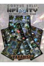 Modiphius Entertainment Infinity RPG: Paradiso Geomorphic Tile Set