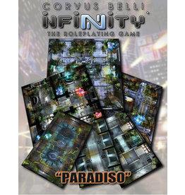 Modiphius Entertainment Infinity RPG: Paradiso Geomorphic Tile Set