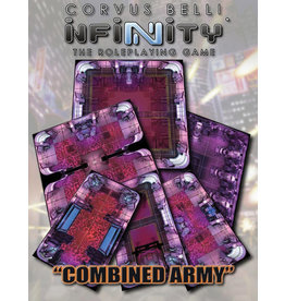 Modiphius Entertainment Infinity RPG: Combined Army Geomorphic Tile Set