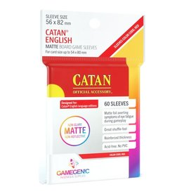 GameGenic DP: Matte: Catan Red (60)