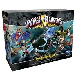 Renegade Game Studios Power Rangers - Heroes of the Grid: Allies Pack