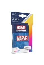 GameGenic Marvel Champions LCG: Blue Sleeves