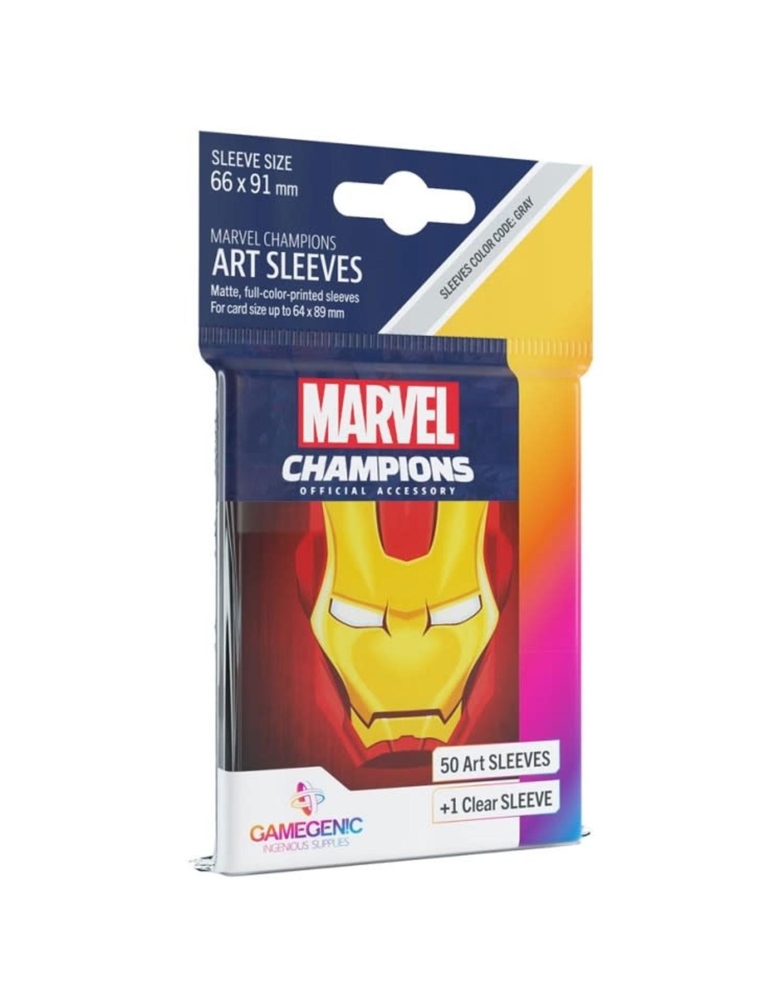 GameGenic Marvel Champions LCG: Iron Man Sleeves