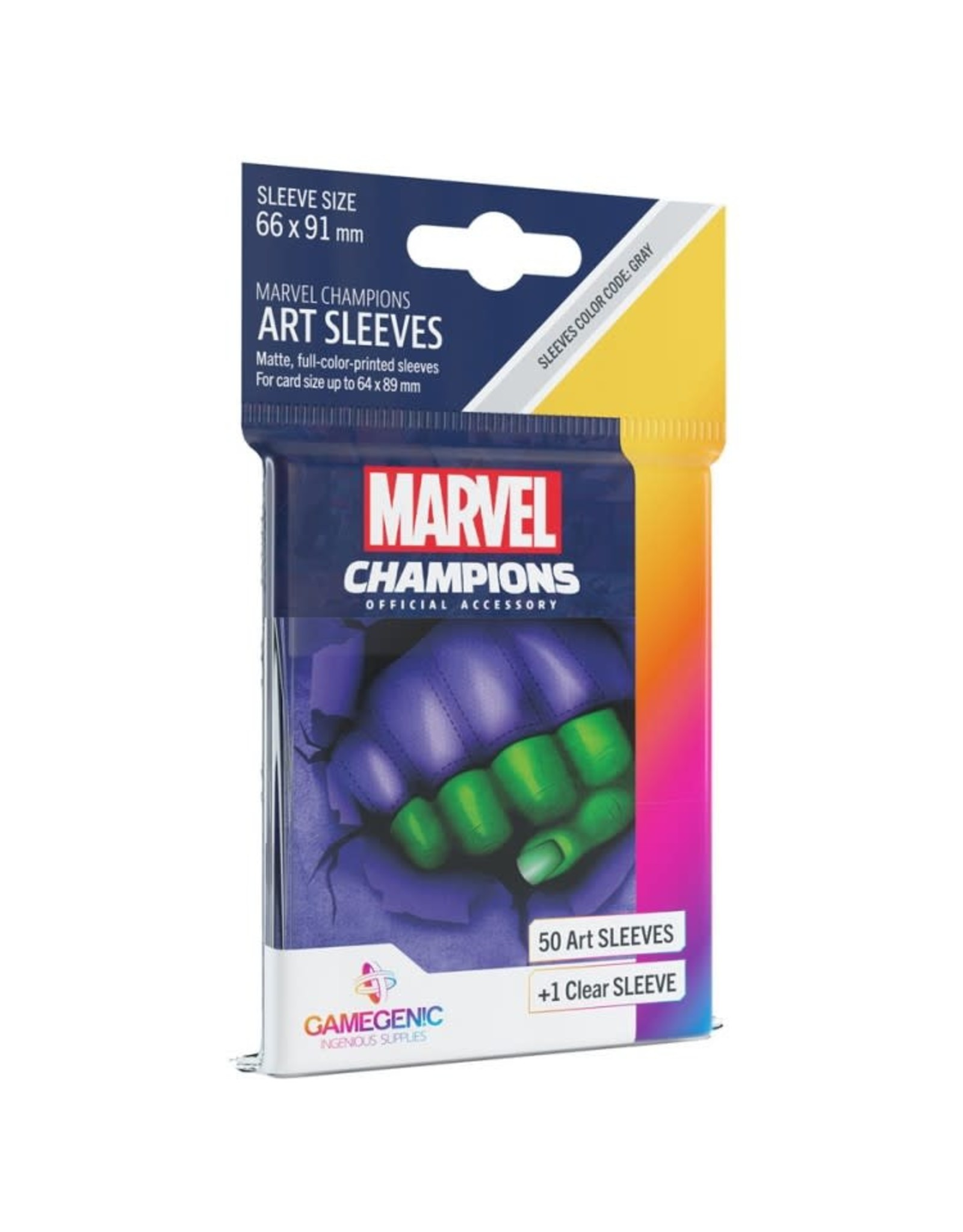 GameGenic Marvel Champions LCG: She-Hulk Sleeves