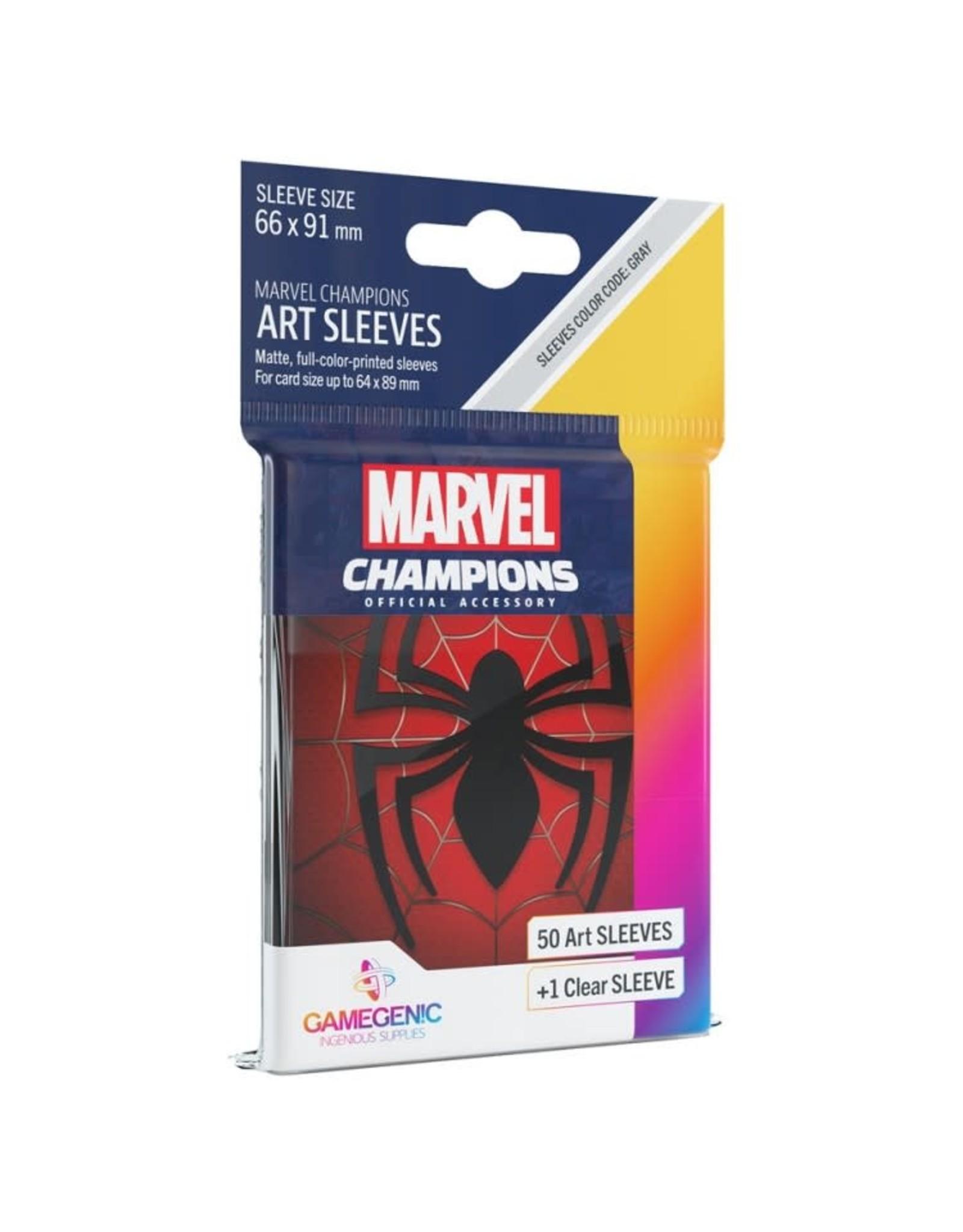 GameGenic Marvel Champions LCG: Spider-Man Sleeves